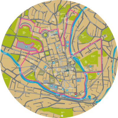 Bath BID Map